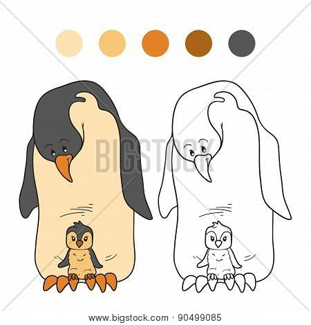 Coloring Book (penguin)