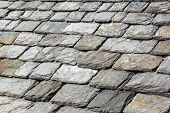 picture of slating  - Close - JPG
