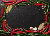 picture of peppercorns  - Chili pepper - JPG