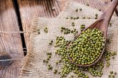 picture of mung beans  - Dried Mung Beans  - JPG