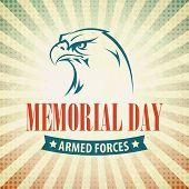 stock photo of eagle  - Memorial Day - JPG