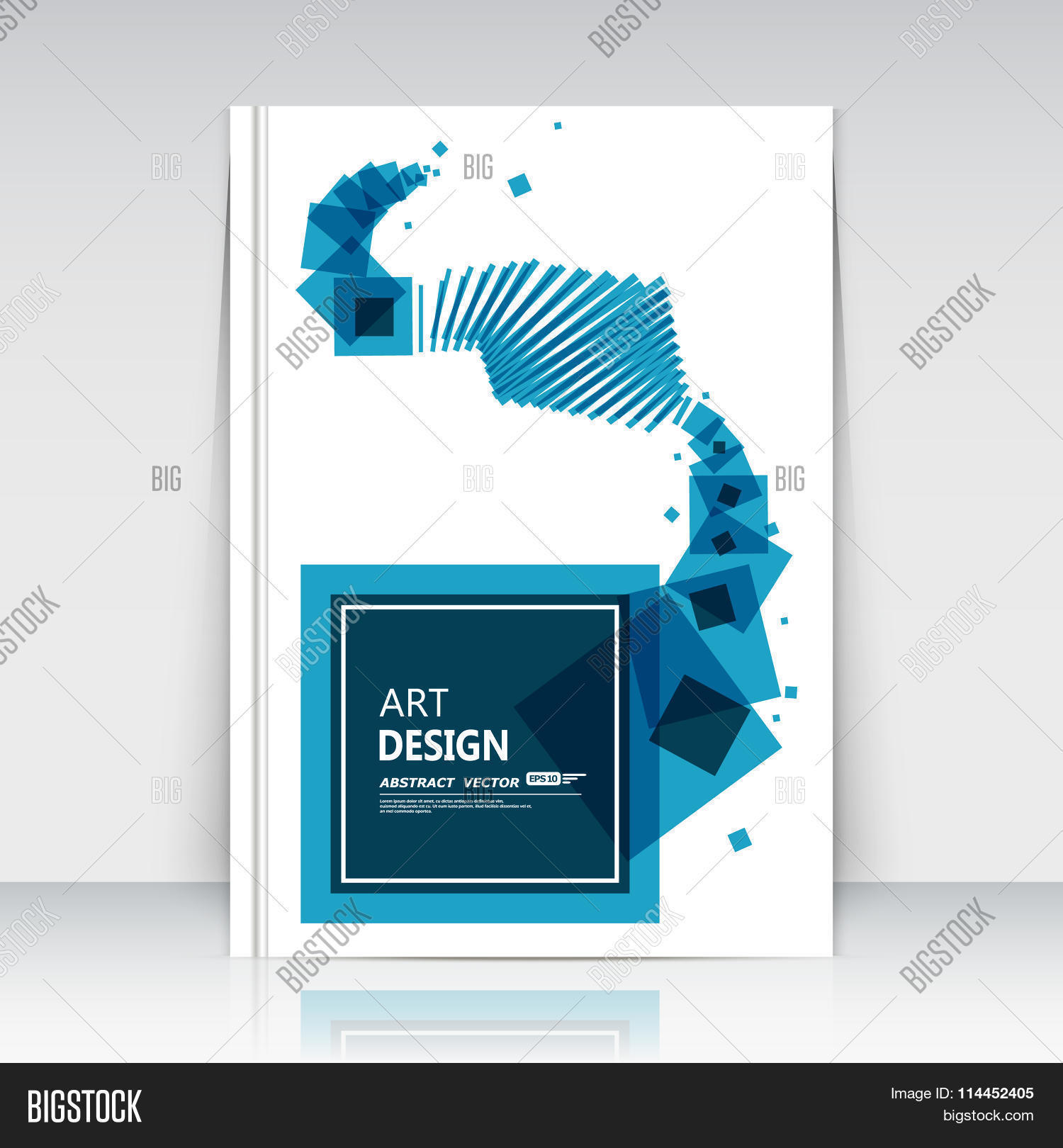 abstract composition blue squares lines art box blocks text abstract composition blue squares lines art box blocks text frame icon quadrate