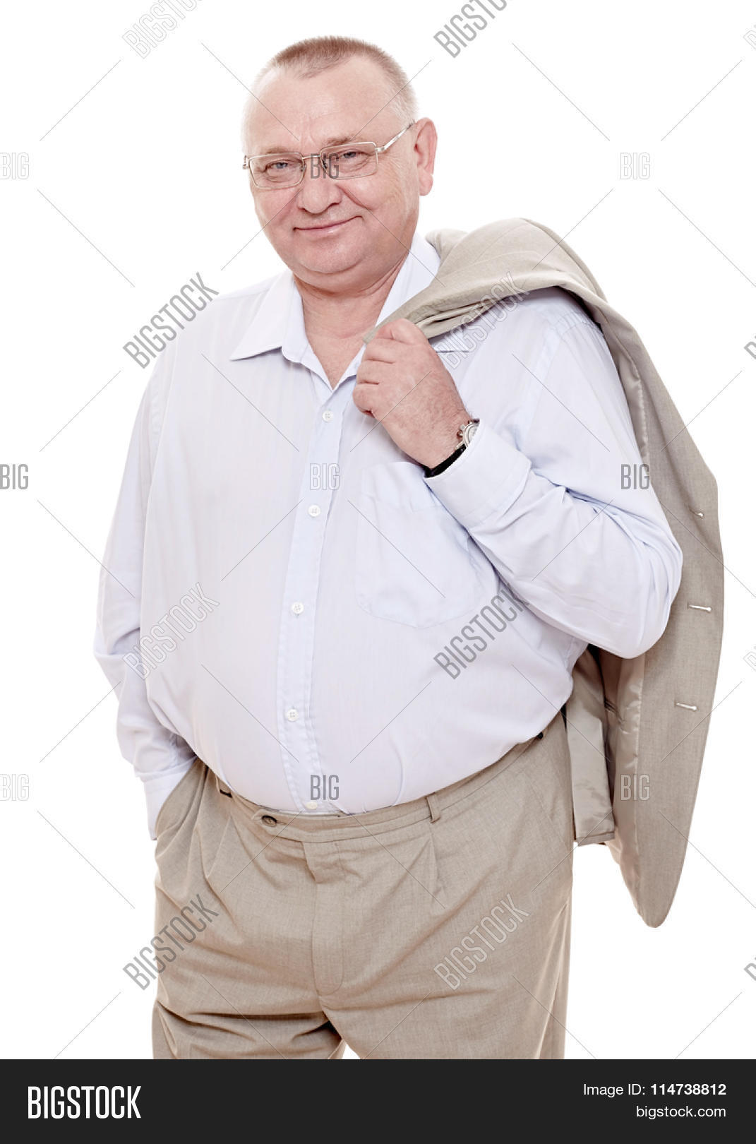 Middle Aged Man Standing