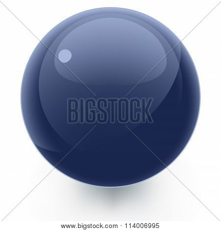 Glossy Blue Icon Template