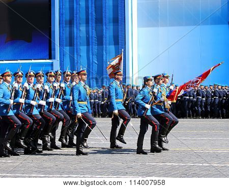 Ceremonial March Of The Serbian Troops