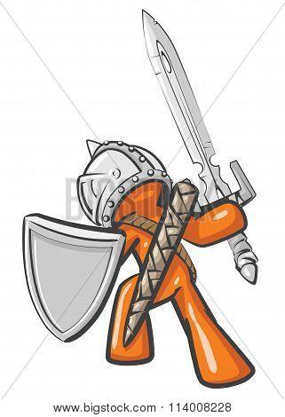 Design Mascot Warrior