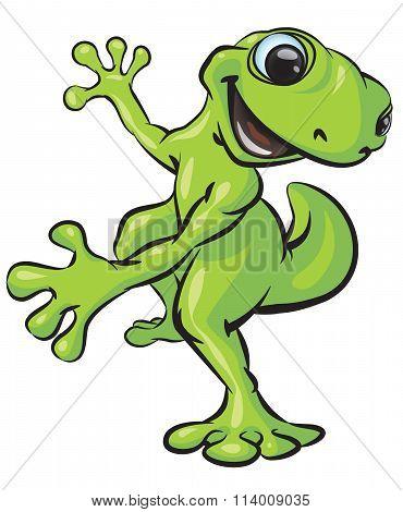 Gecko Fun Pose