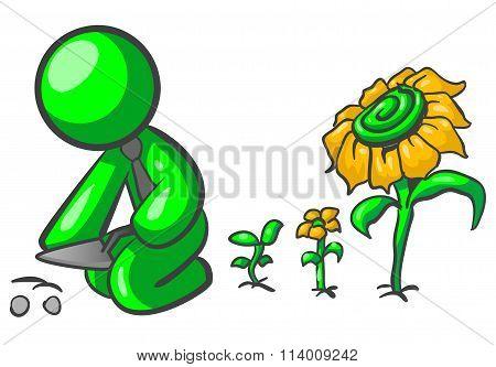 Green Man Gardening