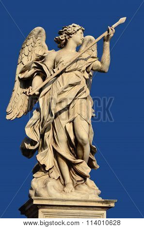 Angel With The Holy Lance Of Longinus