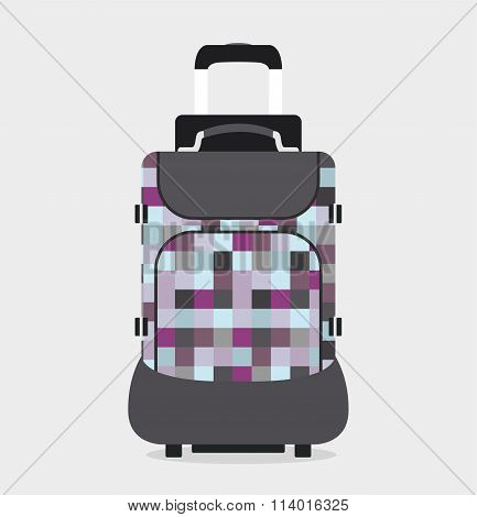 Travel bag vector illustration