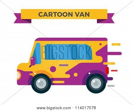 Delivery vector truck