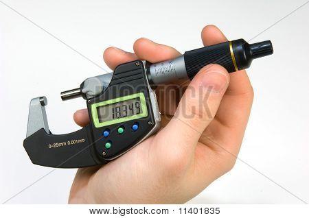 Handling Of A Micrometer