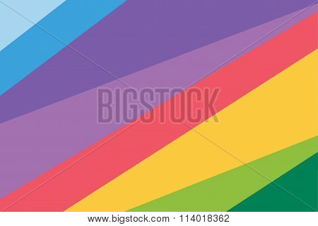 Abstract line triangle background design