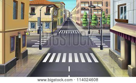 City streets. Image 01