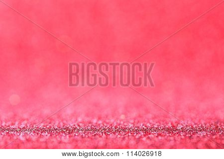 Blurred Abstract Lights Background