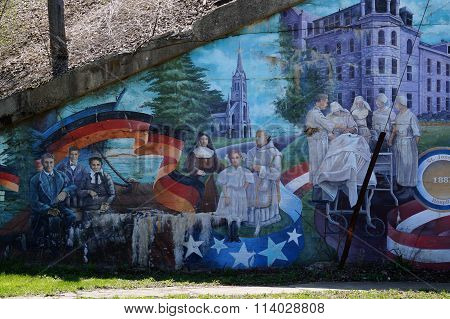 German Heritage Mural