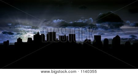 Sky Line And City Scape