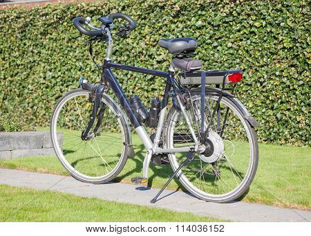 Electric Bicycle In The Sun