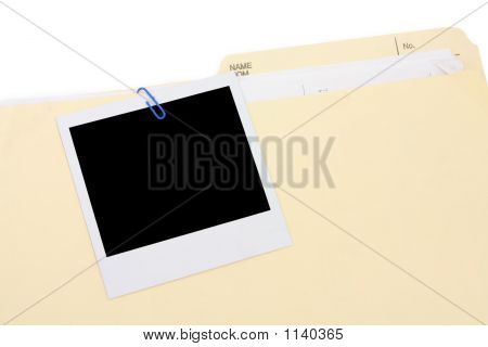 A Photo And File Folder
