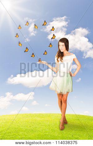 Love Butterflies Concept