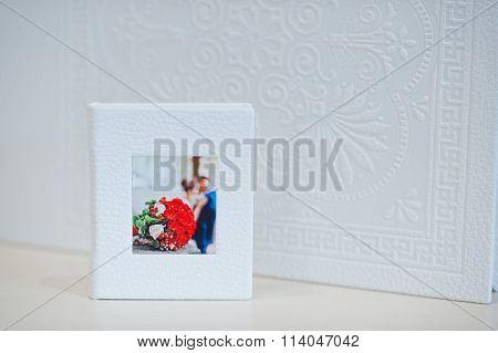 White Wedding Flash Drive Box