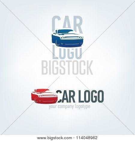 Car logotypes - car service