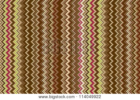 Herringbone Tweed Dimensional Seamless Pattern. Colors Are Grouped For Easy Editing.