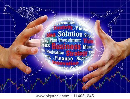 Magic Ball In Hands