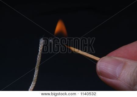 Lighting The Wick
