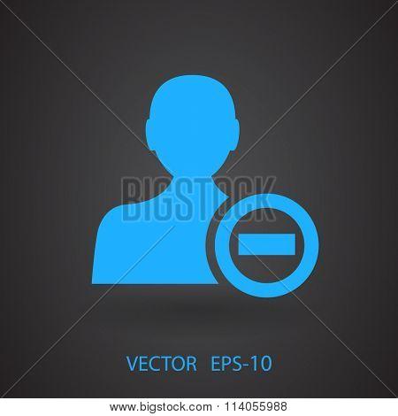 Remove contact icon