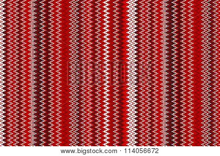 Seamless Red Chevron Pattern. Background Retro Vintage