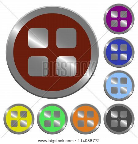 Color Large Grid View Buttons