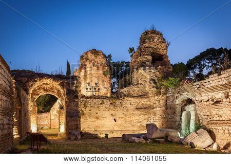 The Old Roman Baths Of Odessos, Varna, Bulgaria