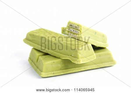 Green Tea Chocolate Wafer