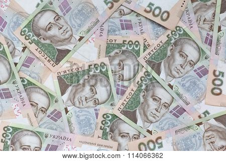 Ukrainian Currency Background