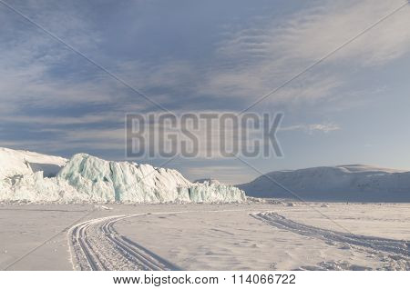 Icerberg On The Svalbard Islands - Norway's Arctic