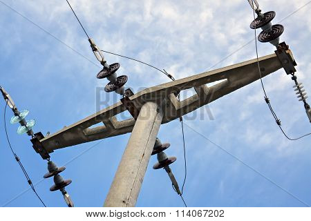 Concrete Electric Pole