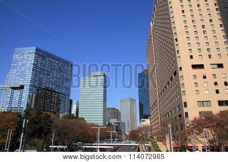 Skyscrapers in Shinjuku, Tokyo, Japan