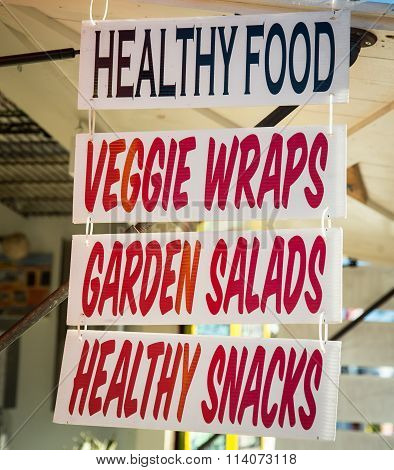 signs for food