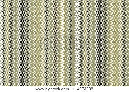 Seamless Vintage Pattern Of Thin Zigzag (chevron) On Grange Paper