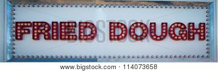 fried dough sign