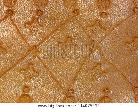 old leather handmade