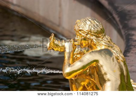 Peterhof. Russia. The Sirens Fountain