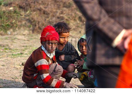 CHILD LABOR - RURAL VILLAGE BOYS INDIAN