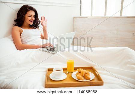 Breakfast Beautiful Girl