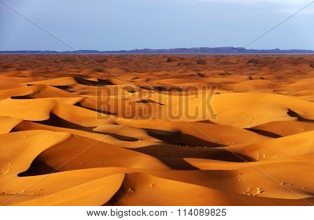 Abstract shapes in Sahara Desert, Africa
