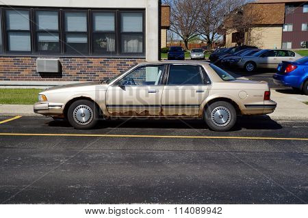 Rusted Buick Century