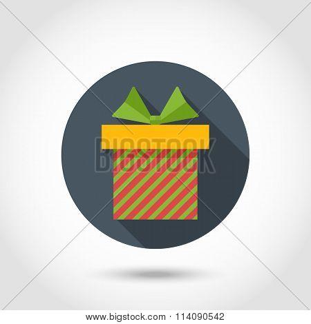 Vector  flat Gift box