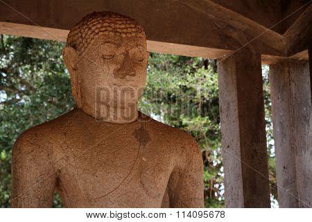 Samadhi Buddha in Anuradhapura Sri Lanka