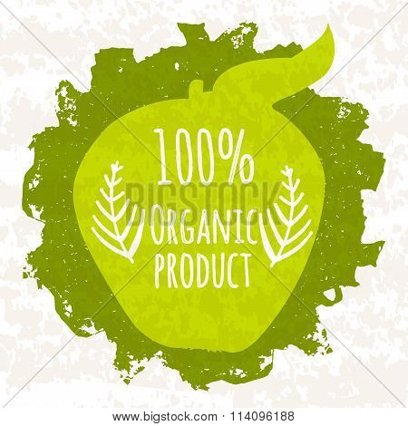 Selling Colorful Poster For Stores And Websites Engaged In The Sale And Cultivation Of Organic Addit